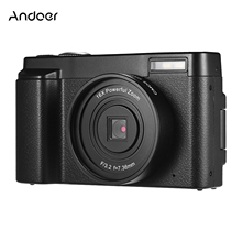Digital-Video-Camera Andoer Portable Zoom Wifi Full-Hd 1080P with 3inch Screen-Supports