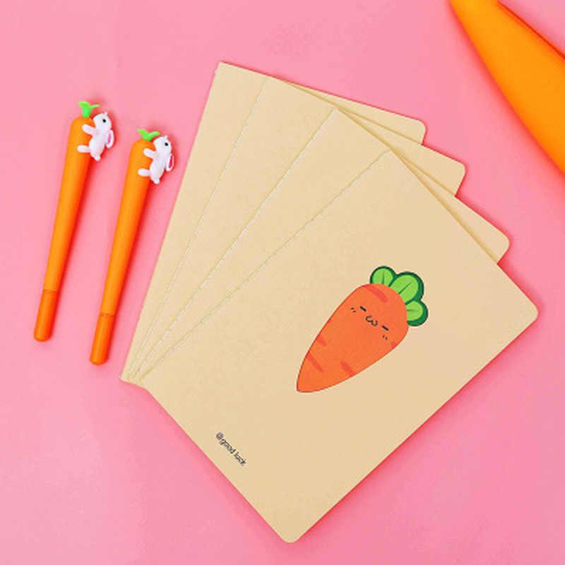 1 stuks Wortel Notepad Novelty Leuke Notebook Student Briefpapier Schema Notebooks Planner Levert Kawaii Schoolbenodigdheden