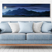 wall picture landscape art prints and posters no frame Painting decoration for living room canvas painting недорого