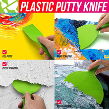Plastic Drywall Corner Scraper Putty Knife Finisher Cleaning Stucco Removal Builder Tool for Floor Wall Ceramic Tile Grout