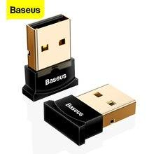 Baseus – adaptateur USB sans fil Bluetooth, Dongle USB, pour ordinateur, récepteur Audio, transmetteur, écouteurs pour ordinateur portable, Mini envoyer