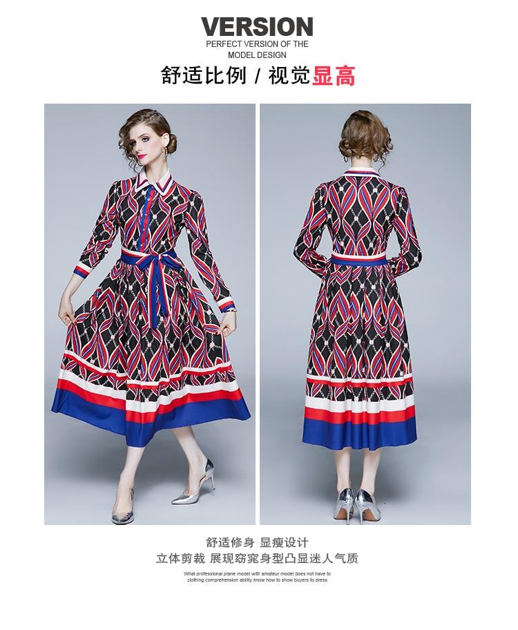 dress women vintage fall dress girl tendency clothing Vacation Autumn long sleeves dresses brazil boho dress boho sequin dress 7
