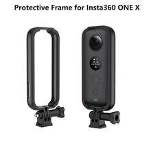 Защитная рамка из АБС-пластика для Insta360 ONE X защитный корпус для камеры чехол и адаптер крепление и винт