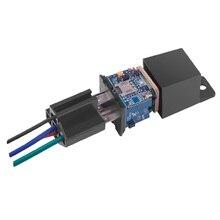 Overspeed Alert App ควบคุม GSM Locator Mini GPS Tracker รถจักรยานยนต์ Shock Anti Theft ระบบตัด