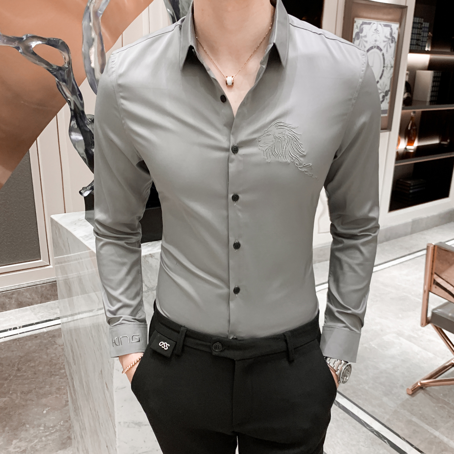 British Style Men Shirts