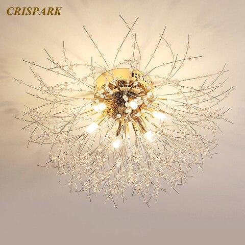 de cristal luminoso decorativo para sala jantar quarto