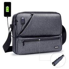 ICozzier 多目的/マルチスペースクロスボディバッグ電子アクセサリーオーガナイザー収納スリングメッセンジャーバッグ iPad 、傘、