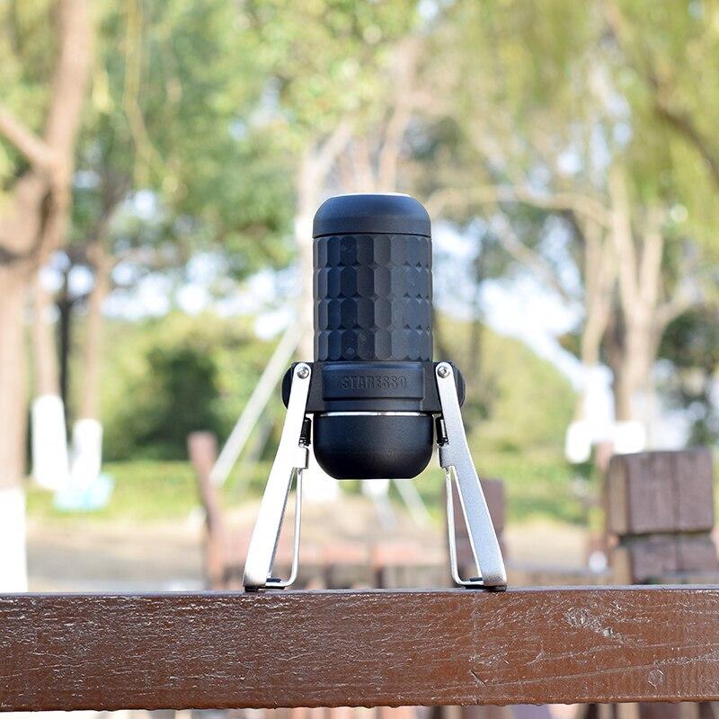 STARESSO Portable Espresso Maker - Third Generation Mini Espresso Maker For Two Shots At One Time Upgrade Version Hand Espresso