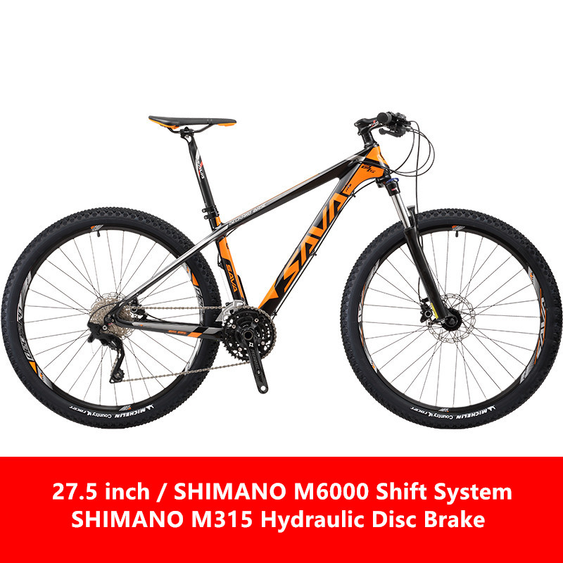 New Brand 27.5*17 Inch Carbon Fiber Frame 30 Speed Hydraulic Disc Brake Mountain Bike Outdoor Downhill Bicicletas MTB Bicycle