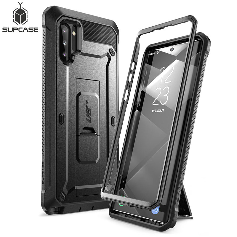 For Samsung Galaxy Note 10 Case (2019 Release) SUPCASE UB Pro Full-Body Rugged Holster Cover WITHOUT Built-in Screen Protector