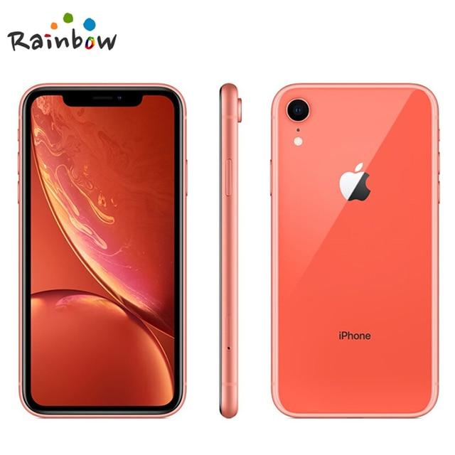 Unlocked Original Apple iPhone XR | 6.1″ Liquid Retina Fully LCD Display 64GB/128GB/256GB ROM 4G Lte Apple Smartphone Smart Phones & Tablets Smartphones