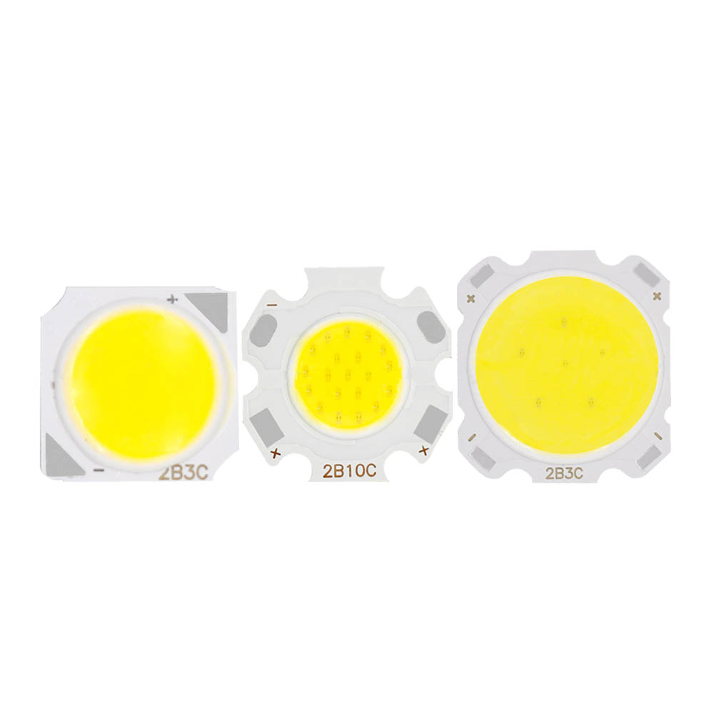 10pcs A Lot 3W 5W 7W 10W LED COB Light Bulb On Board 250mA Led Diodes High Power LED Light Lamp SpotLight Downlight Lamps DIY