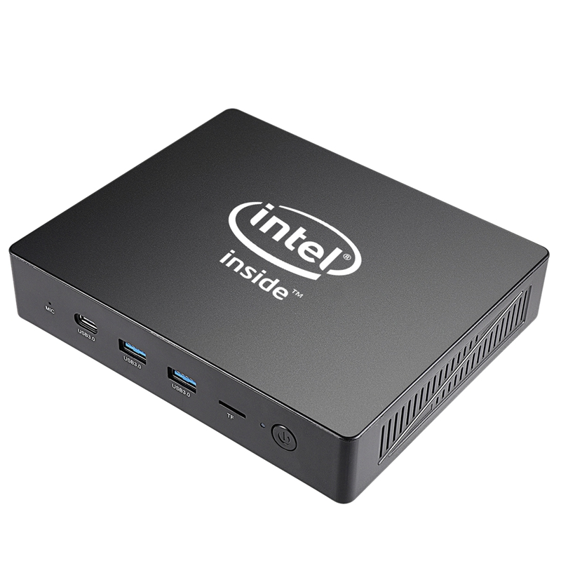 J3455 Windows10 Mini Pc 4G+64G Support HDMI VGA Dual Output Quad Core Mini Computer