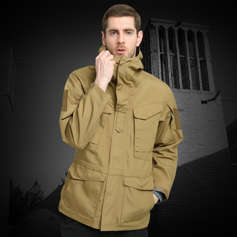 Spring And Autumn Tactical Trench Coat Men's Army Fans Camouflage Waterproof And Breathable Warm Coat M65 Archons Outdoor Waterp