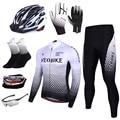 Новинка, дышащая Весенняя Мужская велосипедная футболка с длинным рукавом, набор Pro Team 2020, одежда для горного велосипеда, одежда для велосип...