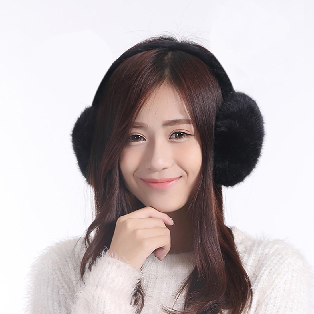 Winter Warm Big Earmuff New fur Solid Color Earmuffs Adult Children Classic Ear Cover Winter Comfortable Unisex Fur Earmuff