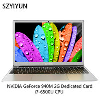 15.6 Inch i7 6500U 2G Video Card Gaming Laptop Russian Laser Backlit Keyboard Netbook 16G RAM Intel Notebook Computer ноутбук