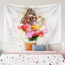 Wall Hanging Tapestry With Butterfly Boho Decor Large Size Animal Wall Tapestry  Wall Carpet  Dorm Decor for Bedroom Home Decor