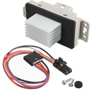 Fits Chevy /& GMC Trucks Blower Motor Resistor W// Harness Fits OE 15305077