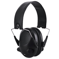 MOOL Electronic Ear Protection Hunting Ear Muff Anti-Noise Headset Hearing Ear Protection Headphone for Hunting