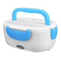 Fiambrera eléctrica portátil de 12/110/220V  caja de almuerzo Bento para comida de coche  contenedor de arroz  calentador para escuela  oficina  hogar  vajilla Tarteras     -
