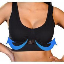 Comfort Aire Bra Posture Corrector Lift Up Bra Women Breathable Yoga Underwear Shockproof S