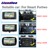 Car Multimedia Player For Smart Fortwo 450 W451 W453 2007~2018 Radio android accessories Carplay Map GPS Navi Navigation System
