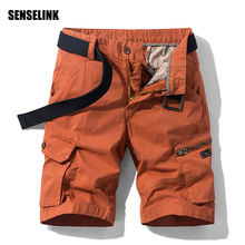 Men's Cargo Shorts 2021 Spring Summer High Quality Outdoor Breathable Casual Fashion Pants Streetwear Plus Size New Men's Shorts