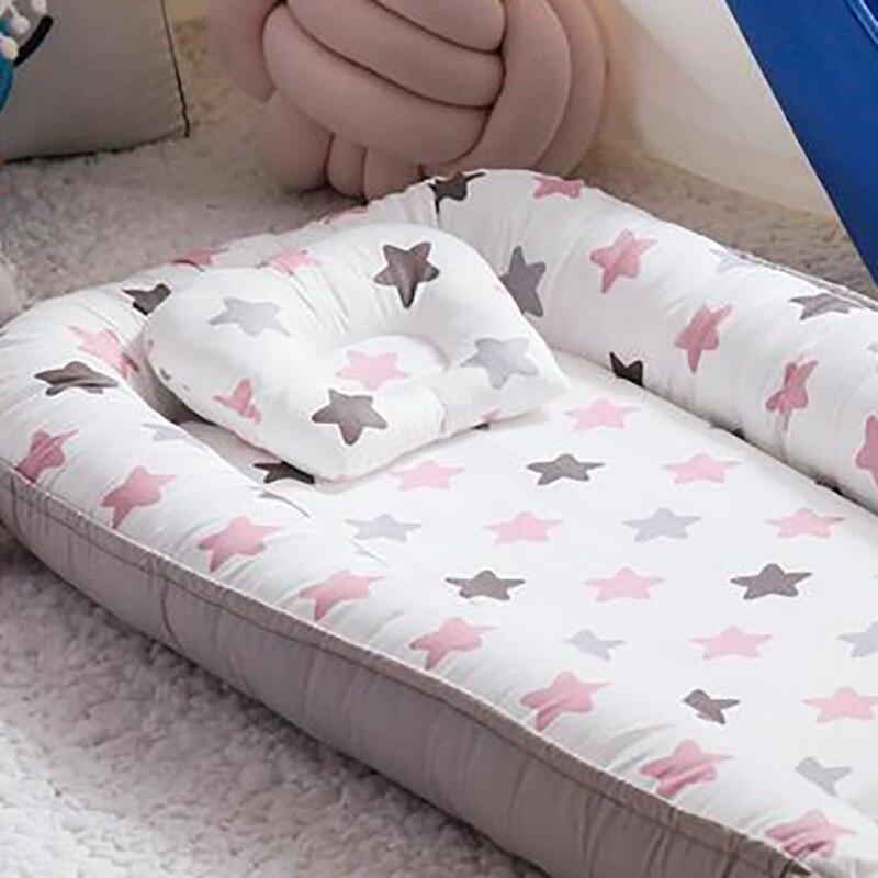 algodão do quarto do bebê cama
