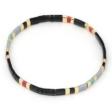 Go2boho Vintage Tila Beads Bracelet Men Japan Miyuki Bracelets Women Summer Jewelry Fashion Pulseras Mujer Moda 2019 Handmade