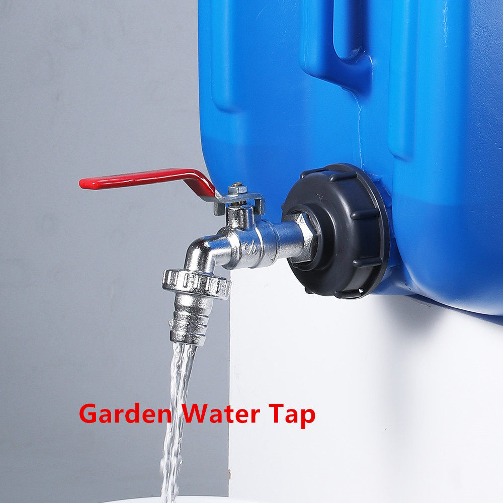 """1//2/"""" 3//4/"""" 1/"""" Thread IBC Tank Adapter Tap Water Connector Replacement Va-SL"""