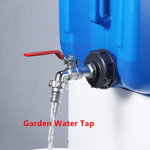 Tank-Adapter IBC Water-Connectors Brass Garden Replacement-Valve S60X6 Tap Iron High-Quality