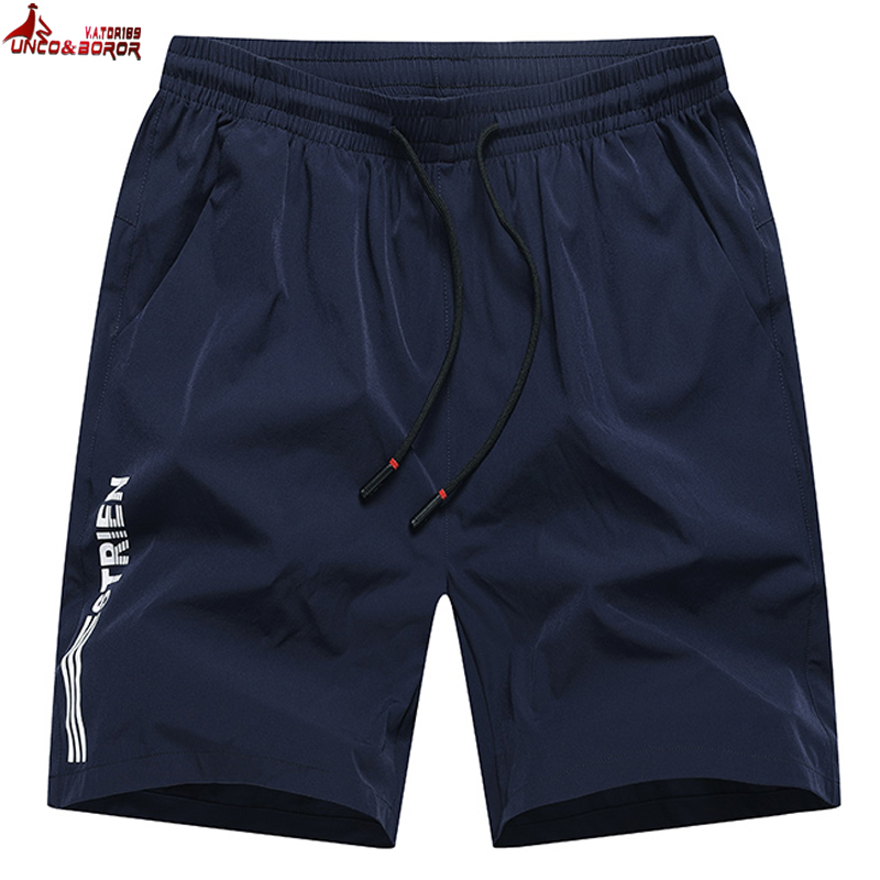 Men`s Shorts Summer Casual Bermuda Beach Shorts Men Gyms Sporting Bodybuiding Joggers Running Shorts For 8XL 9XL 10XL Clothing