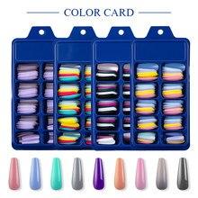 100 шт./набор, накладные ногти для маникюра