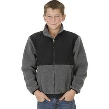 Осенний Детский свитер с воротником для улицы, куртка, Детский ветростойкий дышащий Теплый кардиган для мальчиков и девочек, флисовое пальто с длинными рукавами