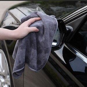 Image 5 - منشفة غسيل السيارة من الألياف الدقيقة ، فائقة النعومة ، 400GSM ، قطعة قماش للتنظيف والتجفيف ، ملحق السيارة