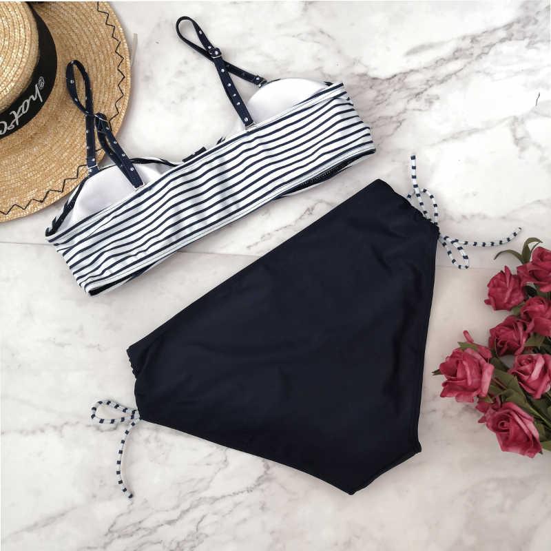 Bañador Tankinis, conjunto de maternidad, novedad de verano 2019, Bikini Sexy de talla grande, ropa de baño para el embarazo, ropa de playa 5XL para mujeres embarazadas