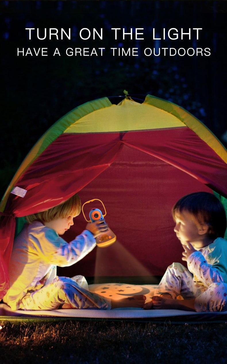 de desenvolvimento lanterna céu estrelado sono lâmpada
