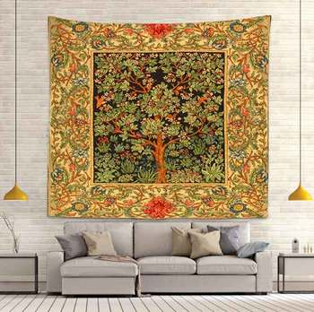 Simsant Psychedelic Shrooms Tapestry Colorful Abstract Trippy Tapestry Wall Hanging Tapestries for Home Dorm Fantasy Decor 15