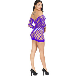 Fishnet Underwear Elasticity Cotton Lenceria Sexy Lingerie Hot Women Sex Costumes For Mesh Baby Doll Dress Erotic Lingerie