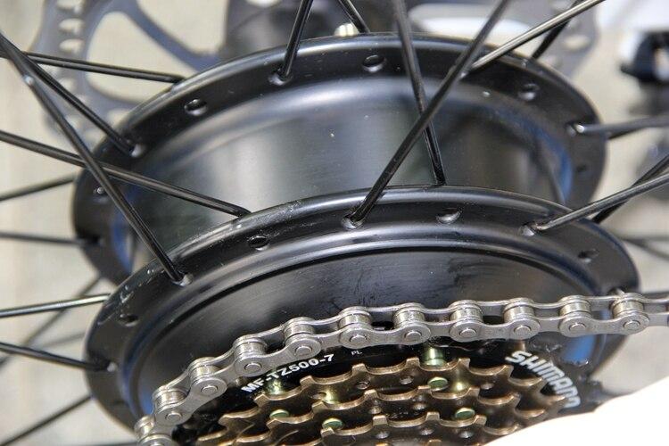 s11F 26inch Wheel snow electric bicycle 350W/500W Aluminum alloy Folding Suspension Frame electric bike e bike 9