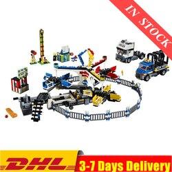 DHL w magazynie Park rozrywki Giant Stride Carnival kompatybilny 15014 10244 klocki klocki zabawki