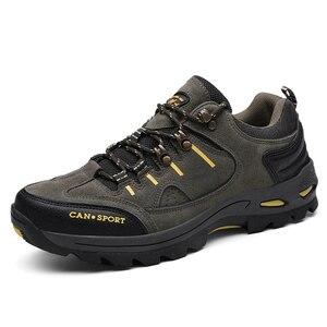 Image 3 - VESONAL Zapatillas deportivas de malla transpirables para hombre, calzado antideslizante para exteriores, para otoño e invierno, 2019