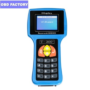 Image 1 - V17.8 English/Spanish T300 Key Programmer T 300 Decoder T Code Key Transponder Car Key Programmer T 300 Key Copy Tool T 300