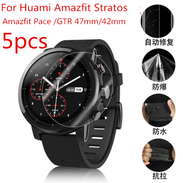 Full-Screen-Protector Guard-Film-Cover Stratos Smart-Watch Pace Gtr 47mm Xiaomi Huami Amazfit title=