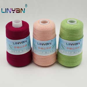 Image 1 - 100g*3 pieces threadlet 100% Cashmere thread Hand knitting & crochet thickness Pure goat wool yarn for knitting & crocheting ZL7