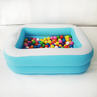 Baby Pool 110x88x33cm Swim Center Can Be Bathtub Ball Pit For Baby Toy Play Inflatable Pool