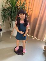 98cm 38.5inch Reborn Baby Doll Full Body Silicone inteiro Baby Life Boneca Reborn Toddler Toys for Children Brinquedos Juguetes