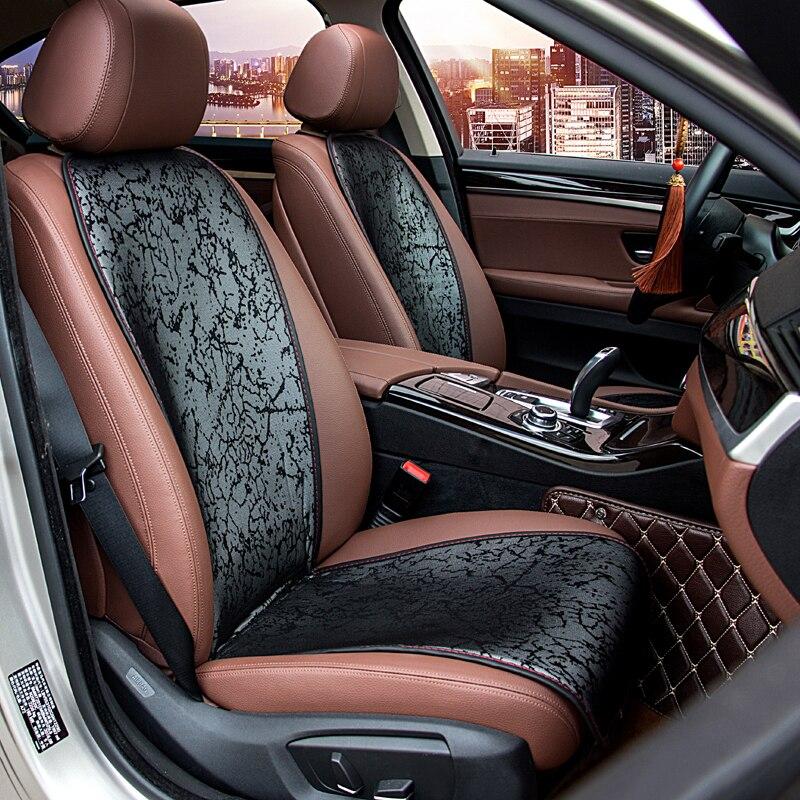Housse de siège de voiture universelle Style chinois impression fleur maille respirant coussin de siège protecteur tapis avec dossier adapté à la plupart des voitures