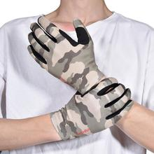 Riding-Gloves Equestrian Horse Camouflage Touch-Screen Hiking Outdoor Breathable Sports
